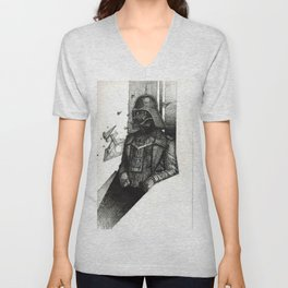 German Vader shall conquer all Unisex V-Neck