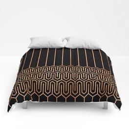 Art Deco No. 1 Quinn Comforters
