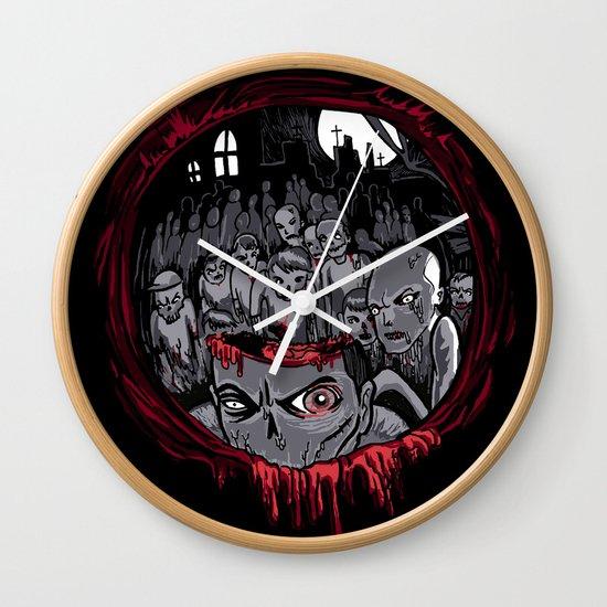 Shotgun'd! Wall Clock