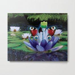 Serenity Lily Metal Print
