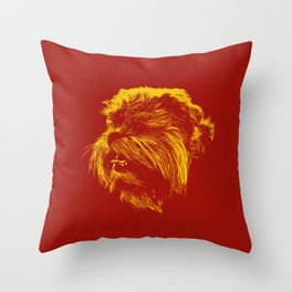 St: Simeon Griffon Bruxellois 50 Throw Pillow