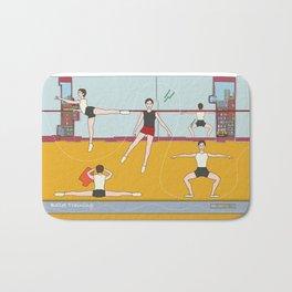 Ballet Training Bath Mat