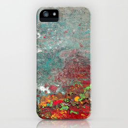 Abstract Distressed #3 iPhone Case