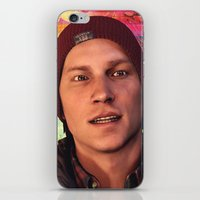 infamous iPhone & iPod Skins featuring InFamous: Second Son - Delsin Rowe by Felicia