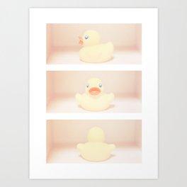 Rubber Ducky Duck Duck Art Print