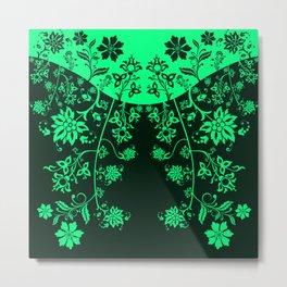 floral ornaments pattern chp150 Metal Print