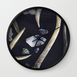 Stag & Stone Wall Clock
