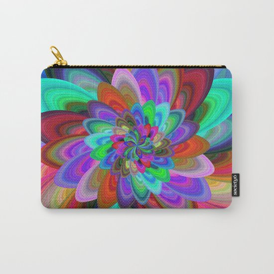 Crazy flower Carry-All Pouch