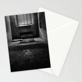 Abandoned Mental Hospital - the dark room Stationery Cards
