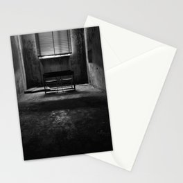Abandoned Mental Hospital - the dark room Stationery Cards