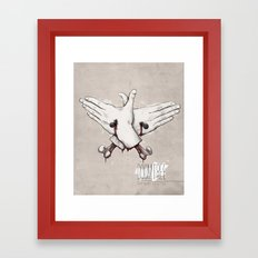 Rap Won't Save You Framed Art Print