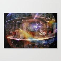 astronauts gotta drink too Canvas Print