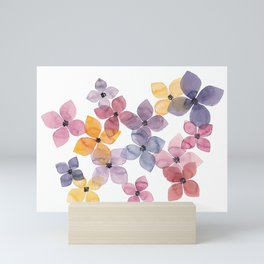 the daily creative project: transparency Mini Art Print