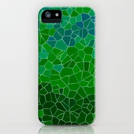 Mosaic Forest iPhone Case
