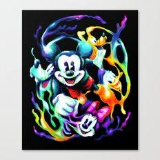 Massive Color Canvas Print