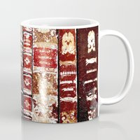 books Mugs featuring Books by Regan's World