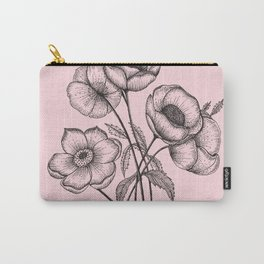 Palid Flowers  Carry-All Pouch