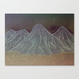 Range - Orange Canvas Print