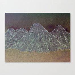 Range - Orange Canvas Print