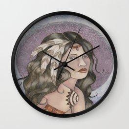 Shamaness Wall Clock