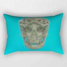 Skull Coral Reef Rectangular Pillow