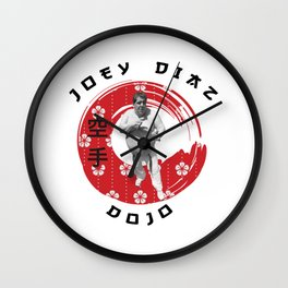 Joey Diaz Karate Dojo Wall Clock
