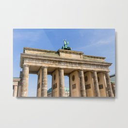 Brandenburg Gate Berlin Metal Print