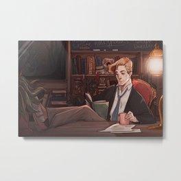 R. J. Lupin Metal Print