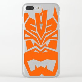 Decepticon Bowser - Mono Clear iPhone Case