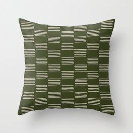 hatches –small doug fir Throw Pillow