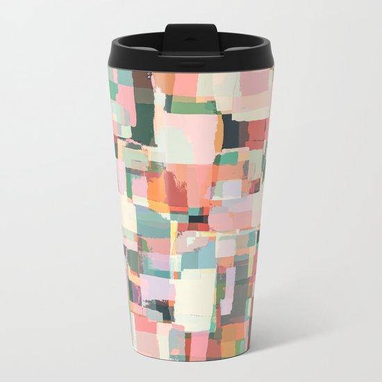 Abstract Painting No. 9 Metal Travel Mug