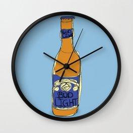 Bud Light Bottle Wall Clock