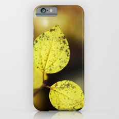 yellow leaves. iPhone 6s Slim Case