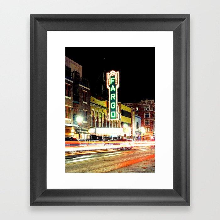Historic Fargo Theater  Gerahmter Kunstdruck