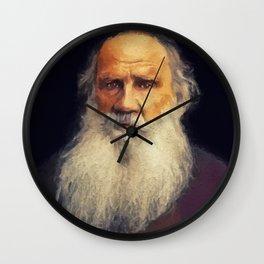Leo Tolstoy, Literary Legend Wall Clock