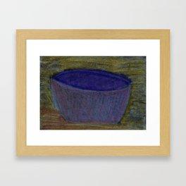 Bowl Framed Art Print