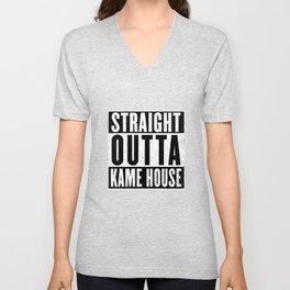 Straight Outta Kame House Unisex V-Neck