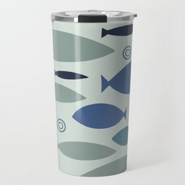 Geo Fish Travel Mug