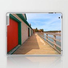 Basin Head Beach Boardwalk Laptop & iPad Skin