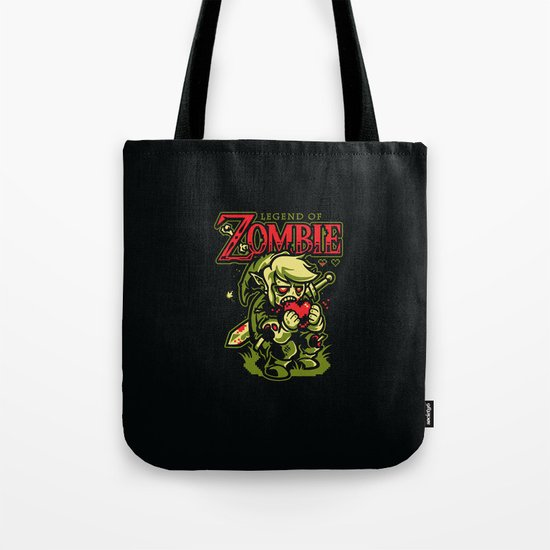 Legend of Zombie Tote Bag