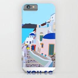 Sea you soon [Santorini, Greece] #2 iPhone Case