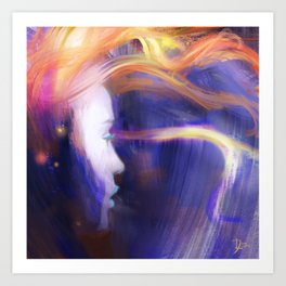 Star Embers Art Print