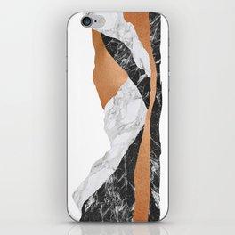 Marble Landscape I, Minimal Art iPhone Skin