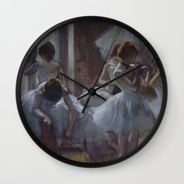 "Edgar Degas ""Dancers"" Wall Clock"