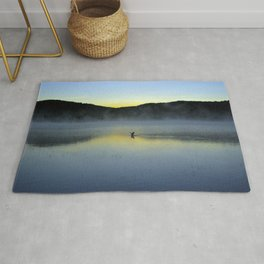 Perfect Landing (Sunrise, Lake George) Rug