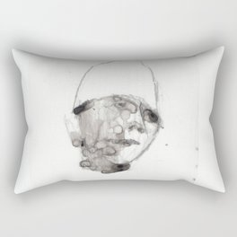 Bandaged Boy Rectangular Pillow