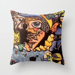 Surreal in Boulder Throw Pillow