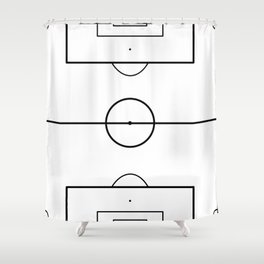 Soccer Field Shower Curtain
