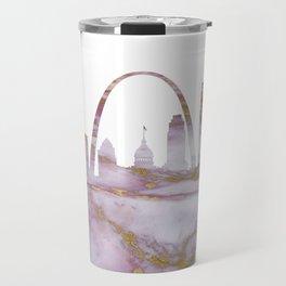 Saint Louis skyline Missouri Travel Mug