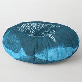 Libellula II Floor Pillow